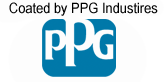 Coated by PPG Industries